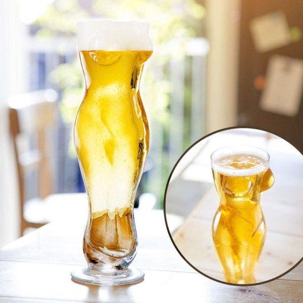 Verre à bière sexy | Idées cadeaux insolites