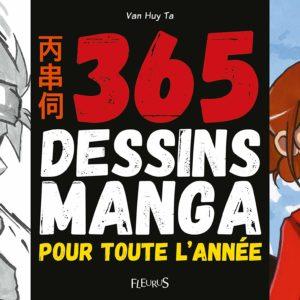 1 dessin par jour pour apprendre à dessiner les mangas | Idées cadeaux insolites