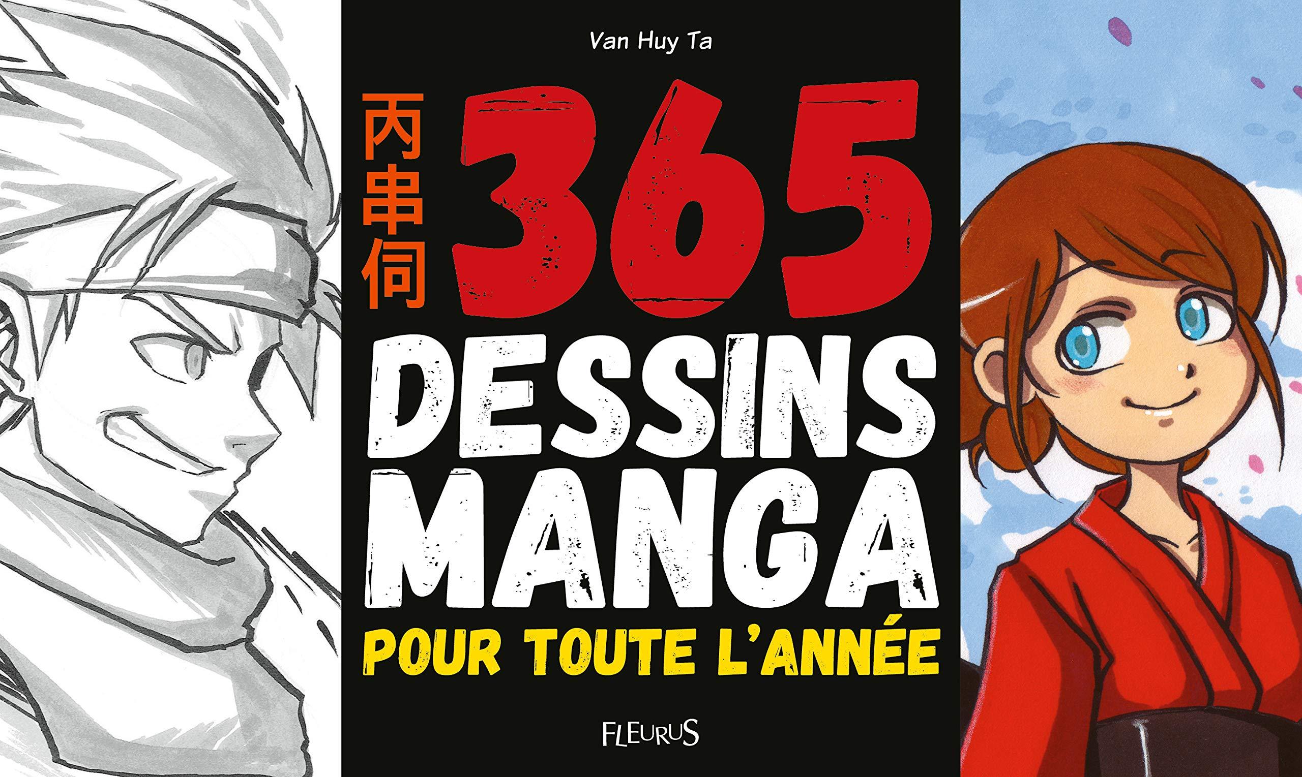 1 dessin par jour pour apprendre à dessiner les mangas   Idées cadeaux insolites