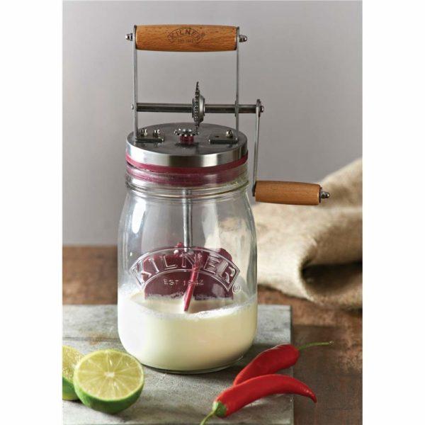 Baratte à beurre en verre | Idées cadeaux insolites