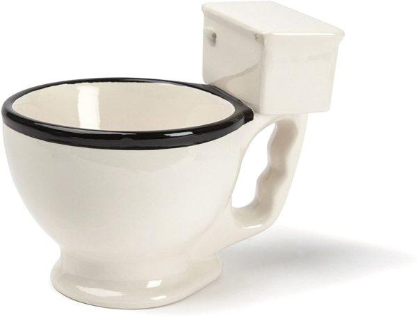 Buvez dans une tasse en forme de toilettes | Idées cadeaux insolites