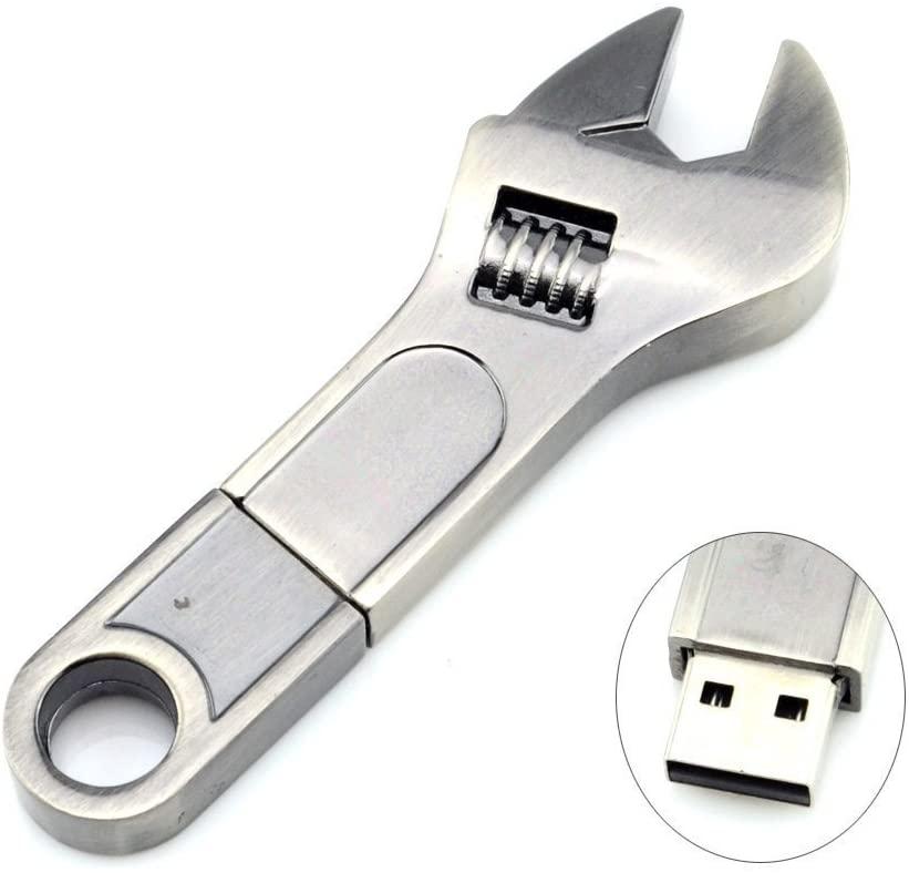 Clé USB en forme de clé à molette | Idées cadeaux insolites