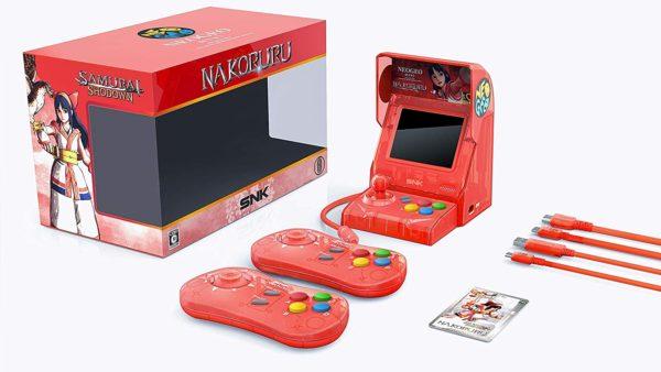 Console Neo Geo Mini spécial Samurai Shodown   Idées cadeaux insolites