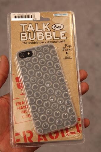 Coque de iPhone 5 papier bulle | Idées cadeaux insolites