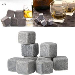 Des glaçons en pierre granit | Idées cadeaux insolites