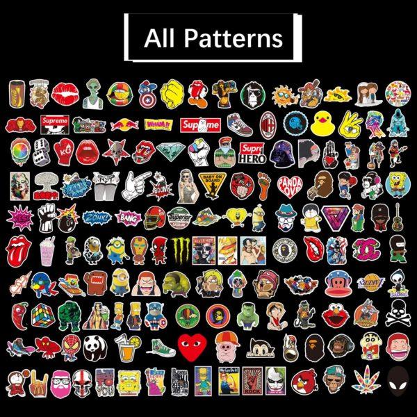 Des stickers originaux pour tous les goûts ! | Idées cadeaux insolites