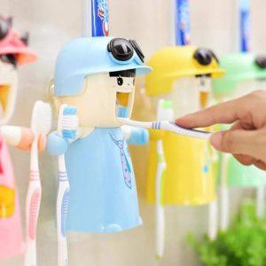 Distributeur de dentifrice automatique pour enfants | Idées cadeaux insolites
