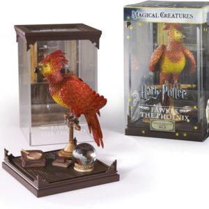 Figurine Harry Potter : Créatures magiques Phénix Fumseck | Idées cadeaux insolites