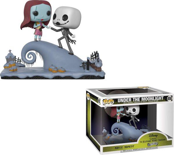 Funko Pop Disney : Jack et Sally sur la colline de L'Étrange Noël de Monsieur Jack | Idées cadeaux insolites