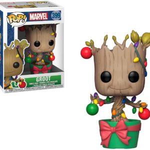 Funko Pop : Figurine Groot Noël qui remue la tête | Idées cadeaux insolites