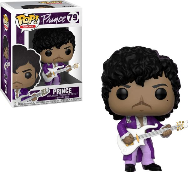 Funko Pop : Figurine Prince chante Purple Rain | Idées cadeaux insolites