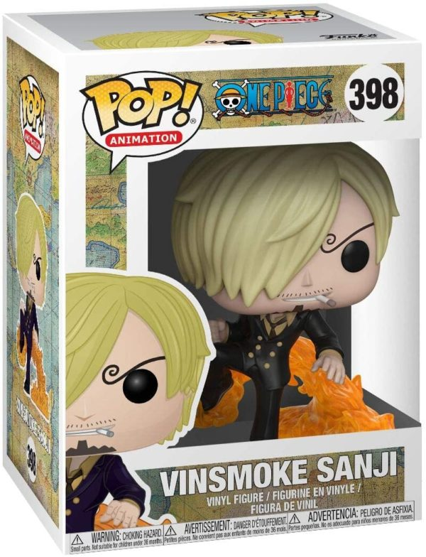 Funko Pop : Figurine Vinsmoke Sanji de One Piece | Idées cadeaux insolites