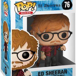 Funko Pop : Figurine du chanteur Ed Sheeran | Idées cadeaux insolites