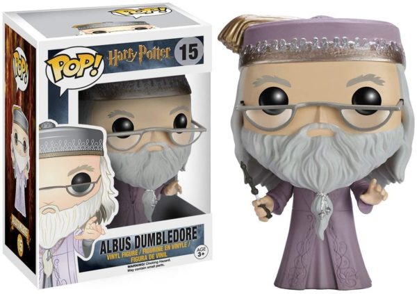 Funko Pop : La figurine Albus Dumbledore de Harry Potter   Idées cadeaux insolites