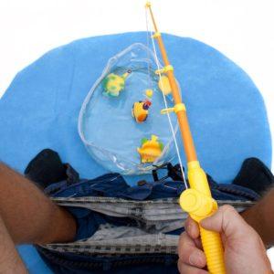 Kit de pêche pour passer le temps aux toilettes | Idées cadeaux insolites