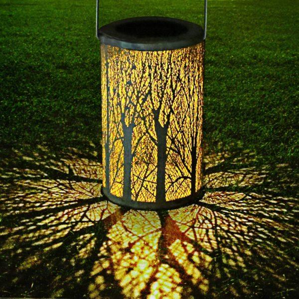 Lampe solaire pour transformer votre pièce en forêt   Idées cadeaux insolites