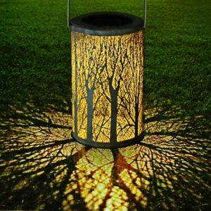 Lampe solaire pour transformer votre pièce en forêt | Idées cadeaux insolites