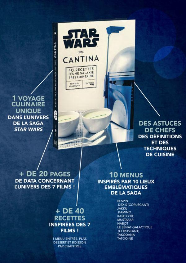 Star Wars Cantina : les recettes de cuisine de la galaxie | Idées cadeaux insolites