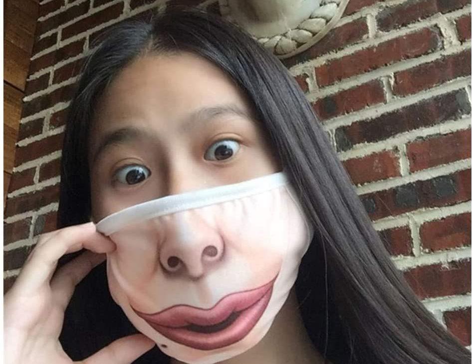 Masque COVID-19 insolite et original | Idées cadeaux insolites