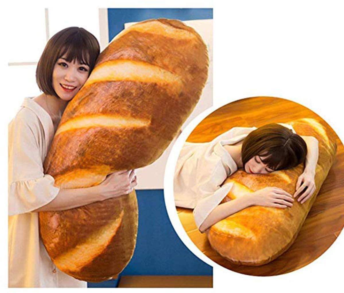 Oreiller en forme de pain au lait | Idées cadeaux insolites