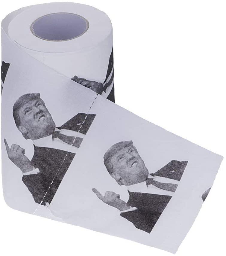 Papier toilettes à l'effigie de Donald Trump | Idées cadeaux insolites