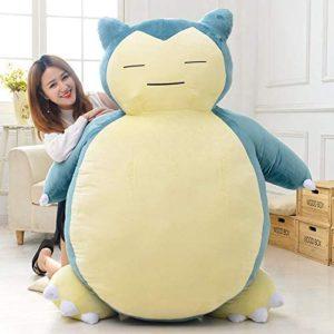 Pokémon Ronflex - Peluche à taille humaine | Idées cadeaux insolites