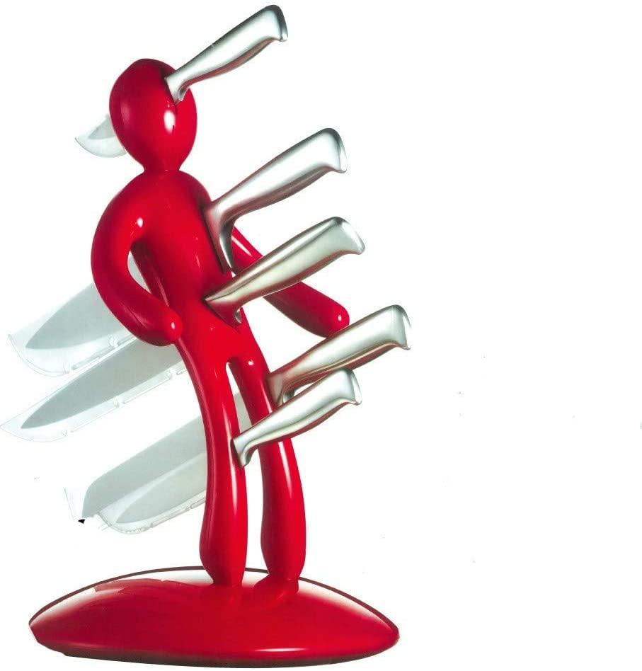 Porte-couteaux personnage poignardé original | Idées cadeaux insolites