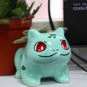 Pot de fleurs Pokémon Bulbizarre | Idées cadeaux insolites