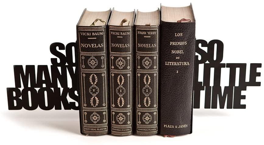 Serre-livres original : So many books, so little times   Idées cadeaux insolites