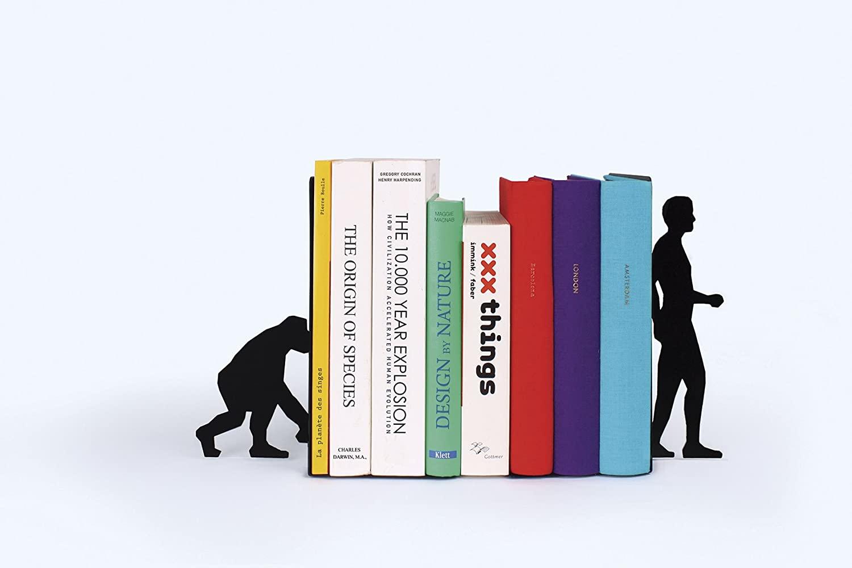 Serre-livres : Théorie de l'évolution | Idées cadeaux insolites