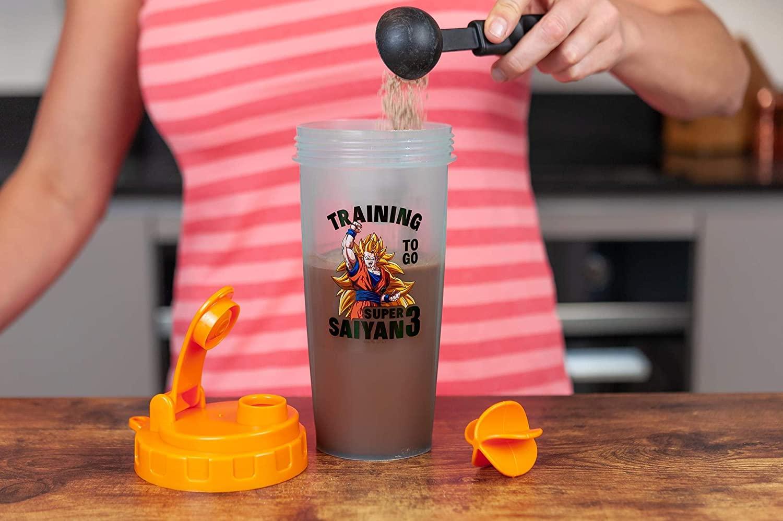 Shaker Dragon Ball pour la musculation | Idées cadeaux insolites