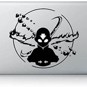 Sticker Aang Avatar pour Mac | Idées cadeaux insolites