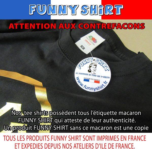 T-Shirt : Veuillez patienter, prochaine connerie en cours de chargement | Idées cadeaux insolites