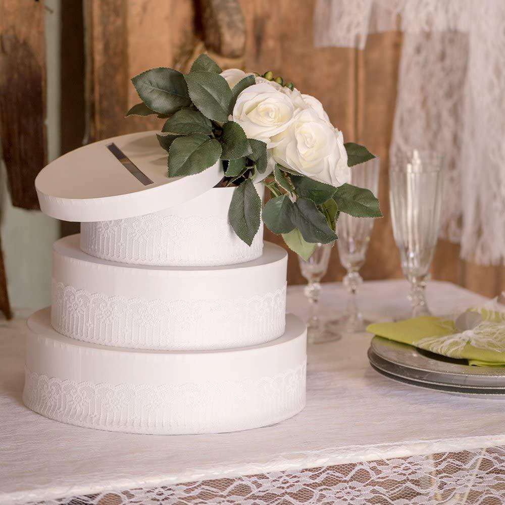 Tirelire en forme de gâteau de mariage | Idées cadeaux insolites