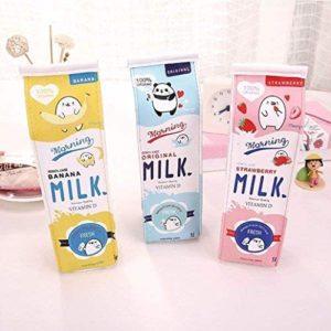 Trousse en forme de carton de lait | Idées cadeaux insolites
