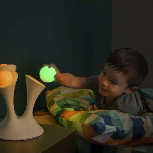 Veilleuse originale avec boules lumineuses portables