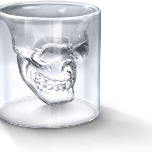Verre à Whisky en forme de tête de mort | Idées cadeaux insolites