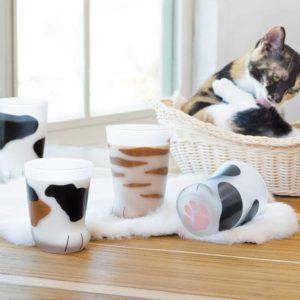 Verre en forme de pattes de chat   Idées cadeaux insolites