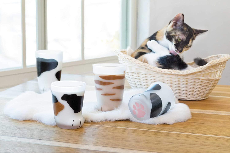 Tasse en forme de pattes de chat   Idées cadeaux insolites