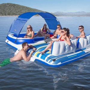 Yacht gonflable et abordable pour profiter de l'été | Idées cadeaux insolites