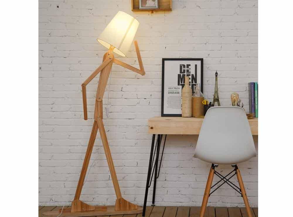 Lampadaire original créatif en forme de bonhomme   Idées cadeaux originales et insolites