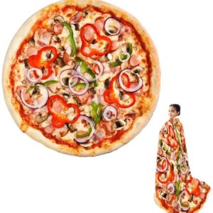 Couverture originale : enveloppez-vous dans une pizza | Idées cadeaux insolites originales
