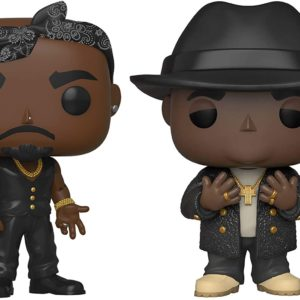 Funko Pop : Figurines Tupac & Notorious B.I.G | Idées cadeaux insolites originales
