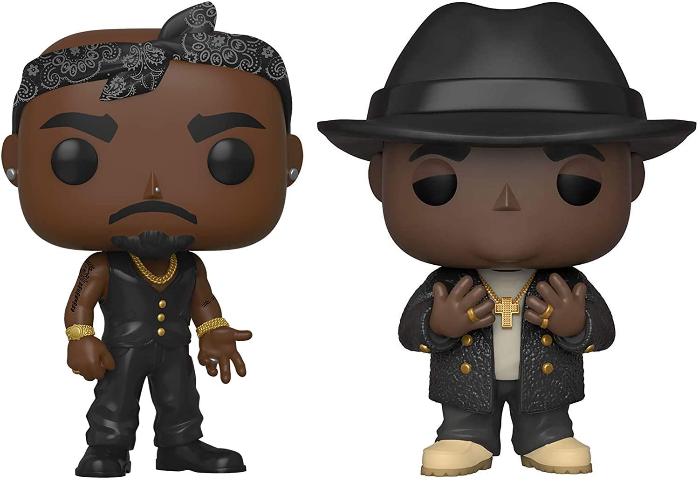 Funko Pop : Figurines Tupac & Notorious B.I.G   Idées cadeaux insolites originales