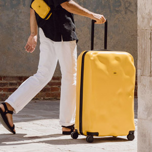 Crash Bagage : la valise de cabine déjà pré-cabossé | Idées cadeaux originales insolites