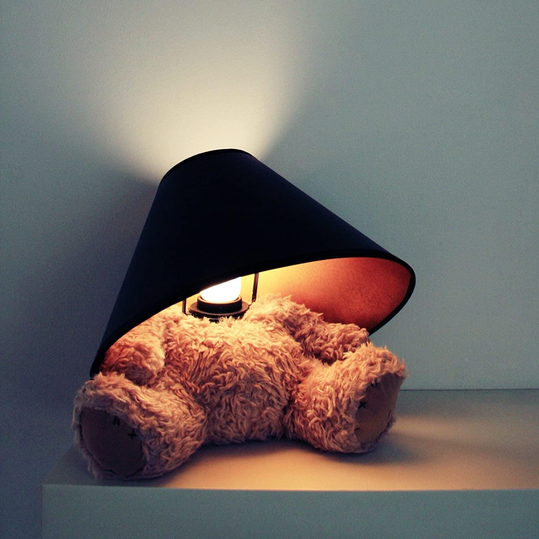 Lampe ours en peluche sans tête pour enfant | Idées cadeaux déco insolites originales