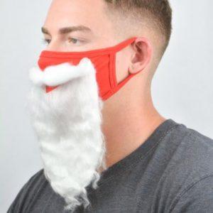 Masque COVID-19 barbe du Père Noël | Idées cadeaux insolites et originales