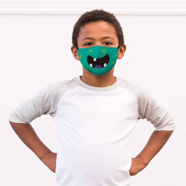 Masque COVID-19 original en tissu pour enfant | Idées cadeaux insolites originales