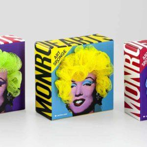 Des éponges insolites Marilyn Monroe | Idées cadeaux insolites et originales