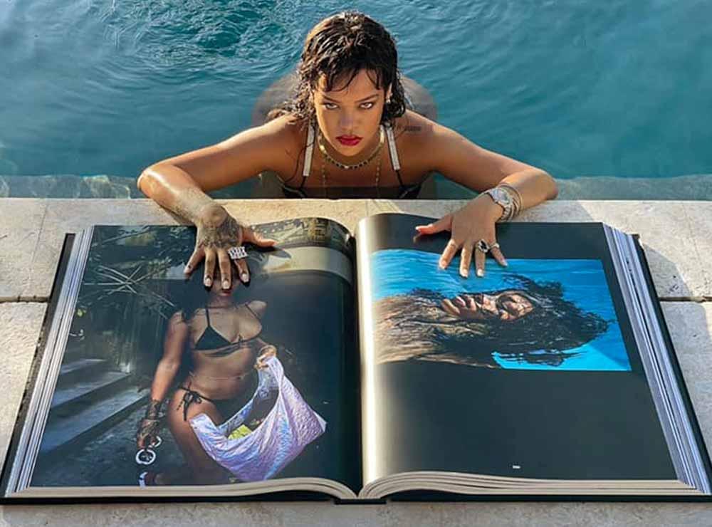 Rihanna vend un album photo géant pour 5750€ | Idées cadeaux insolites originales
